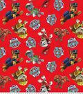 Nick Junior Paw Patrol Fleece Fabric 61\u0027\u0027-Tossed
