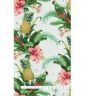 Tommy Bahama Outdoor Print Fabric 54\u0027\u0027-Lush Green Beach Bounty