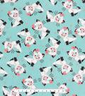 Anti-Pill Plush Fleece Fabric 58\u0022-Pretty Kitty