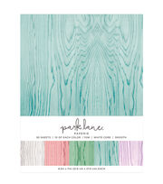 Park Lane 50 pk 8.5''x11'' Value Papers-Wood, , hi-res
