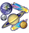 Accent Punch Outs Solar System Mini Bulletin Board Sets 93/pk, 6 Packs