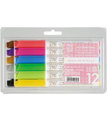 Zig Memory Wink Of Stella Glitter Markers-12PK