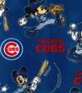 Chicago Cubs Fleece Fabric-Mickey