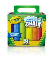 Crayola 24 Ct Sidewalk Chalk, , hi-res