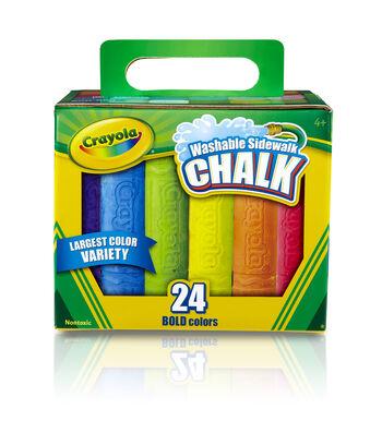 Crayola 24 Ct Sidewalk Chalk