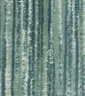 PKL Studio Upholstery Fabric-Velvity Strie Aqua