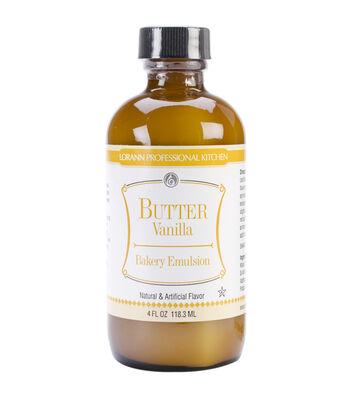 Bakery Emulsions Natural & Artificial Flavor 4oz-Butter Vanilla