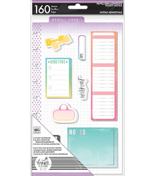 Happy Planner Girl Sticky Notes-Healthy Hero
