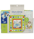 Storytime Quilt & Stuffie Kit-Dogs Read, Too