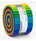 Kona Fabric Roll-Bright Rainbow