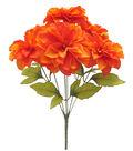 Blooming Autumn 17\u0027\u0027 Dahlia Bush-Flame Orange