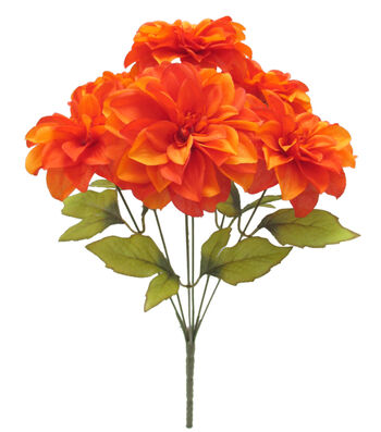 Blooming Autumn 17'' Dahlia Bush-Flame Orange