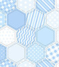 Snuggle Flannel Fabric -Blue Quilt Pattern