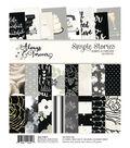 Simple Stories Always & Forever 24 Sheets 6\u0027\u0027x8\u0027\u0027 Double-sided Paper Pad