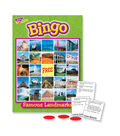 TREND enterprises, Inc. Famous Landmarks Bingo Game, Pack of 3
