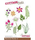 CottageCutz Die-Botanical Garden 2 .8\u0022 To 2.6\u0022