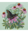 Dimensions Butterfly & Daisies Counted Cross Stitch Kit