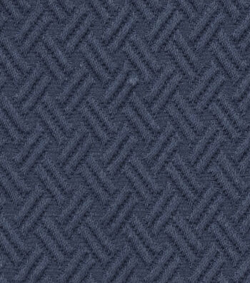 "Jaclyn Smith Upholstery Fabric 54""-Lane /Indigo"
