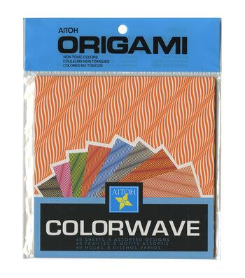 Aitoh Colorwave Origami Paper