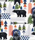 Snuggle Flannel Fabric -Standing Tall Bears