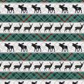 Super Snuggle Flannel Fabric-Blackwatch Lodge Animals