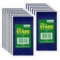 1/2\u0022 Blue Presto-Stick Foil Star Stickers 12 Packs
