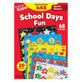 School Days Sparkle Stickers Variety Pack 648 Per Pack