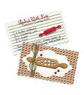 Spellbinders Stamp & Die Set-Recipe Card