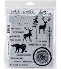 Stampers Anonymous Tim Holtz Cling Stamps-Great Outdoors