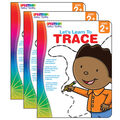SpectrumLet\u0027s Learn to Trace Workbook, Grade Toddler-PK, Pack of 3