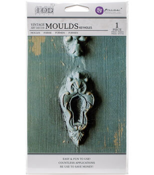 "Iron Orchid Designs Vintage Art Decor Mould 5""X8""-Keyholes"