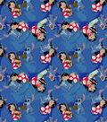 Disney Lilo and Stitch Cotton Fabric -Friends Forever