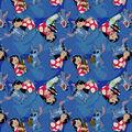 Disney Lilo & Stitch Cotton Fabric-Friends Forever