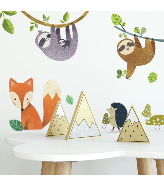 York Wallcoverings Wall Decals Forest Friends Giant, , hi-res, image 3