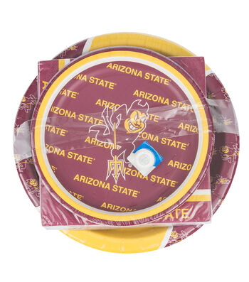 Arizona State University Sun Devils Plate & Napkin Set
