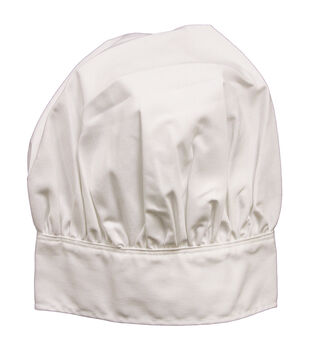 Adult Chef Hat-White