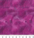 Premium Quilt Cotton Fabric -Star Circles Purple