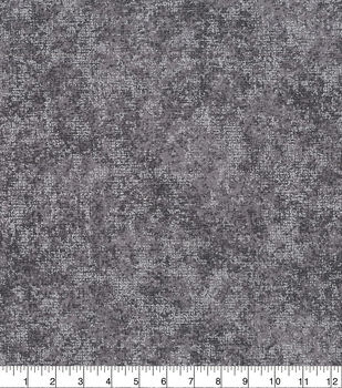 "Keepsake Calico Cotton Fabric 43""-Distressed Blender Foil Gray"
