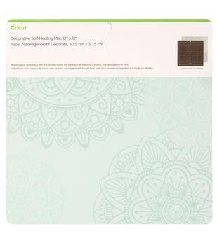 Cricut 12''x12'' Decorative Self-Healing Mat-Mint