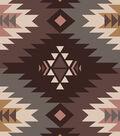 Anti-Pill Fleece Fabric 58\u0022-Southwest Maroon