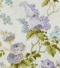 Home Essentials Decor Fabric 45\u0022-Emmas Garden Violet
