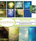 Reminisce Collection Kit 12\u0022X12\u0022-Fairy Forest w/Hollow Tree