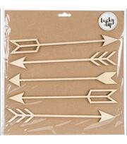 "Lucky Dip Wood Flourish-Arrows 1.5""X9.5"", 5/Pkg, , hi-res"