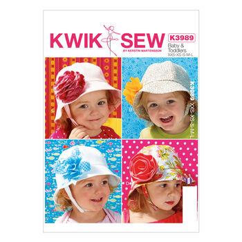 Kwik Sew Pattern K3989 Infants' Hats