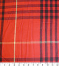 Perfectly Plaid Fabric-Acrylic Red Black