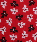 1930\u0027s Cotton Fabric 43\u0022-Tossed Bows Red