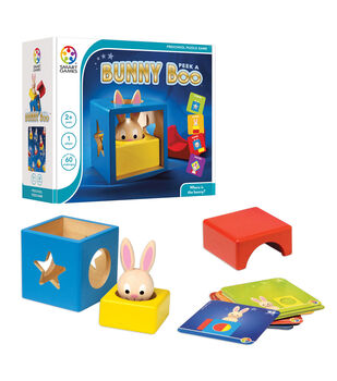 Bunny Boo Preschool Puzzle Game