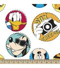 Disney Mickey Mouse Print Fabric-Say Cheese