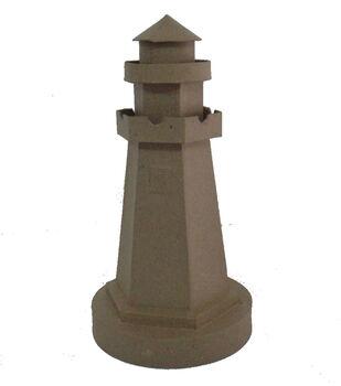 Paper Mache Lighthouse