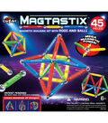 Cra-Z-Art Magtastix 45 pk Magnetic Building Set with Rods & Balls
